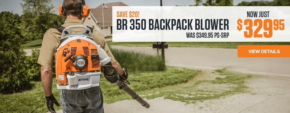 BR 350 Backpack Blower